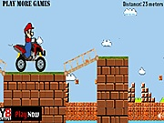 Mario bridge run j�t�k